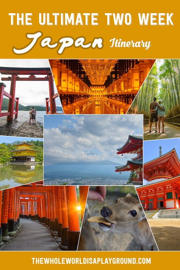 Japan Two Week Itinerary Pinterest