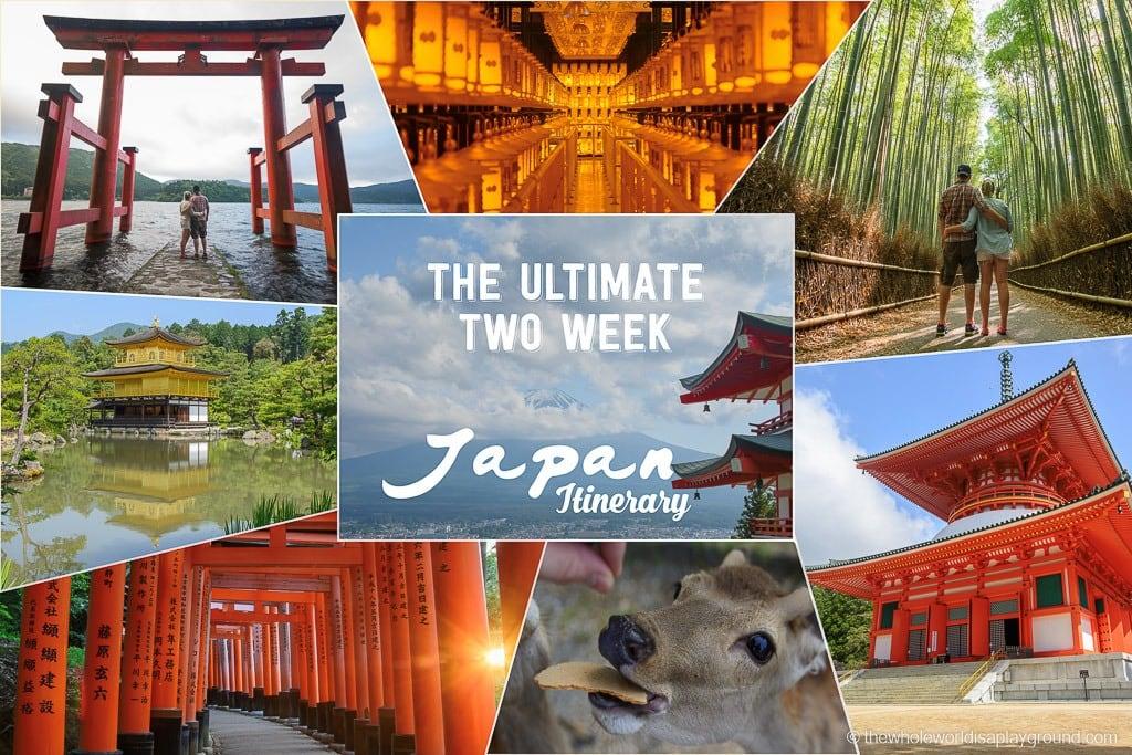 Japan Two Week Itinerary Tokyo