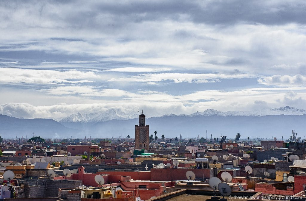 Marrakech: 6 Best Rooftop Bars and Restaurants with a view!