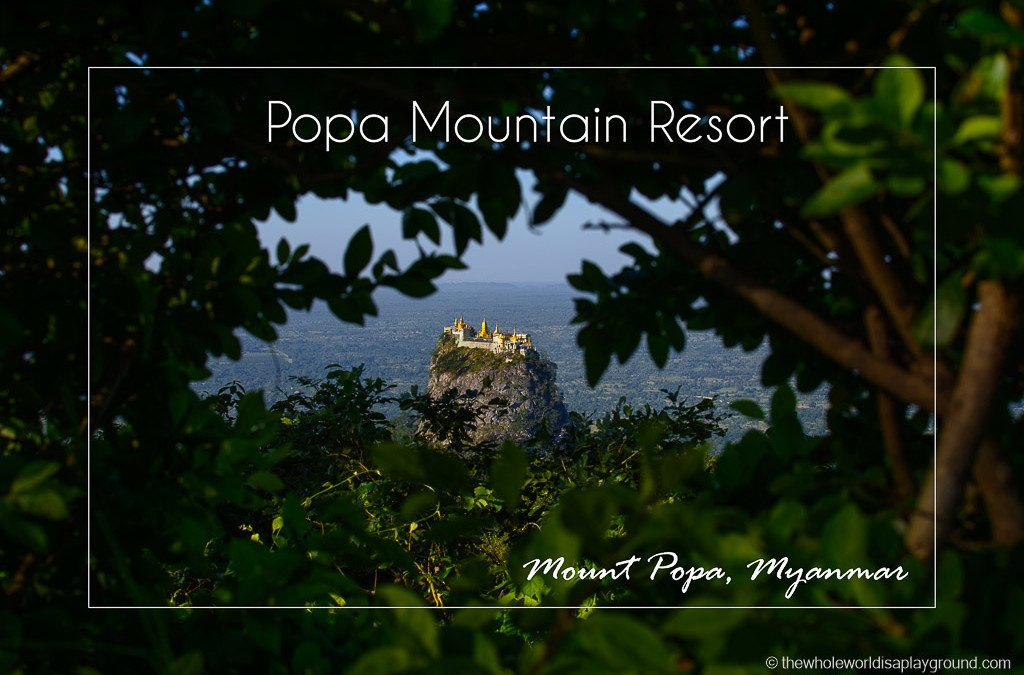 Popa Mountain Resort, Mount Popa, Myanmar: a room with the best view in the world!