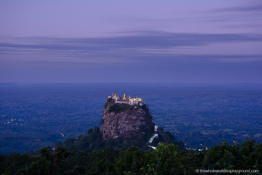 Myanmar Popa Mountain Resort Mount Popa-19
