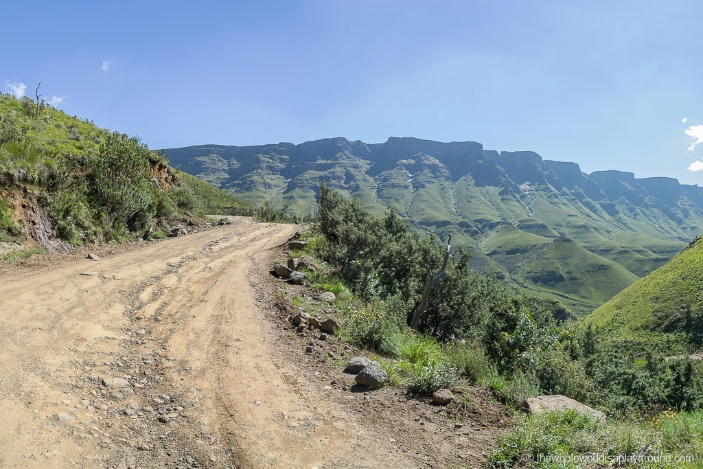 South Africa Driving the Sani Pass-12