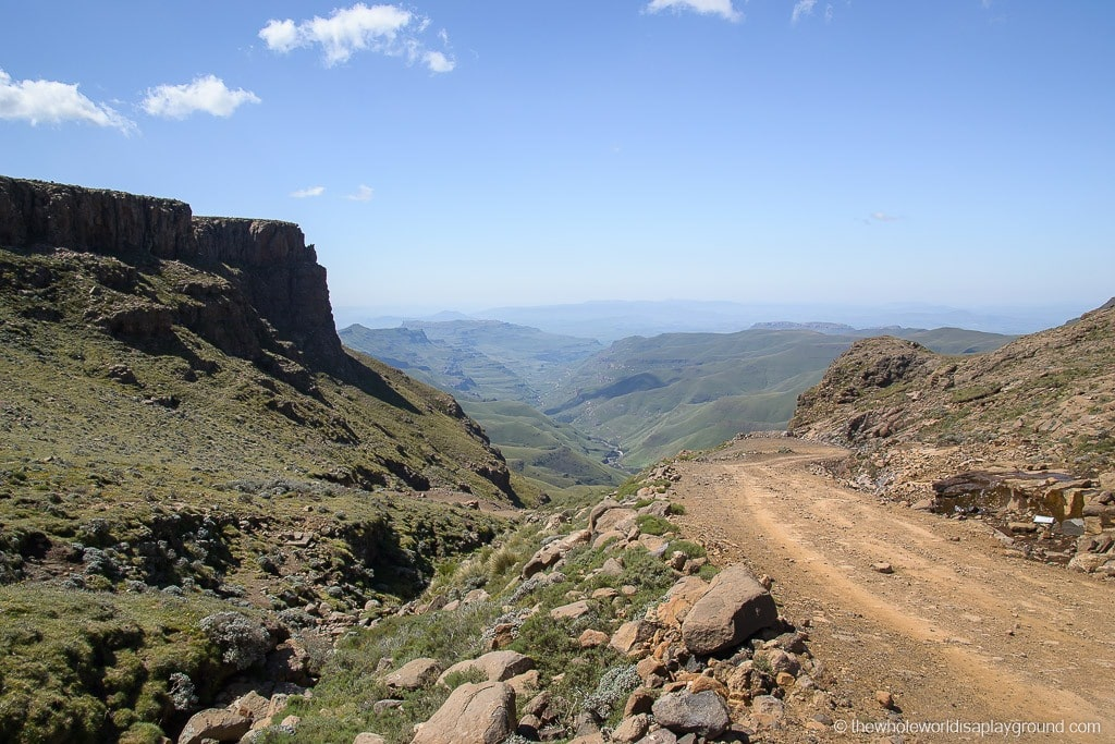 South Africa Driving the Sani Pass-19