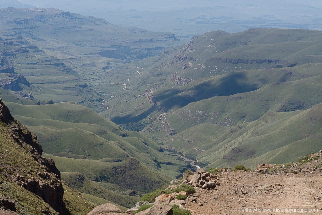 South Africa Driving the Sani Pass-22