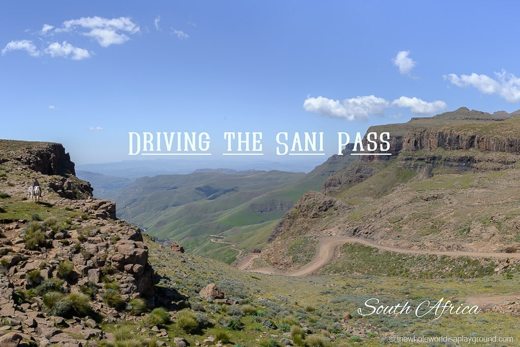 South Africa Driving the Sani Pass-30