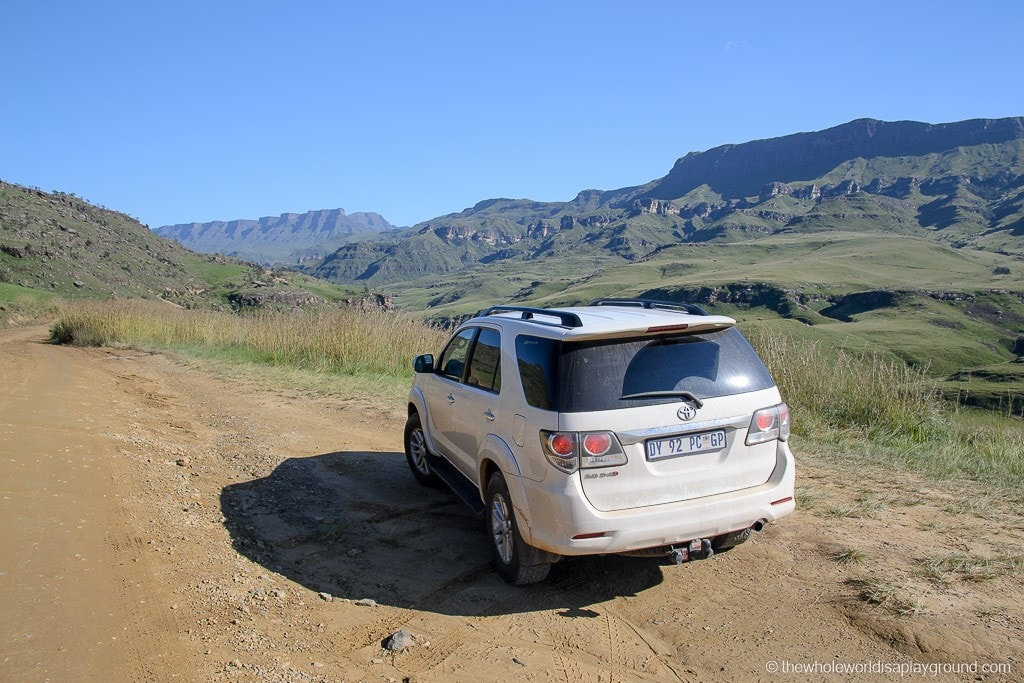 South Africa Driving the Sani Pass-5