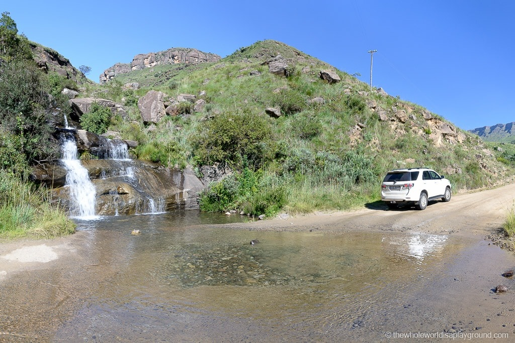 South Africa Driving the Sani Pass-7
