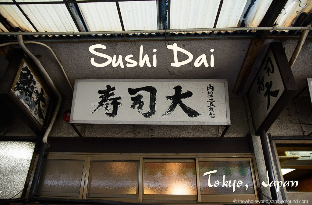 Sushi Dai Review: The best sushi of our lives in Tsukiji Fish Market, Tokyo!