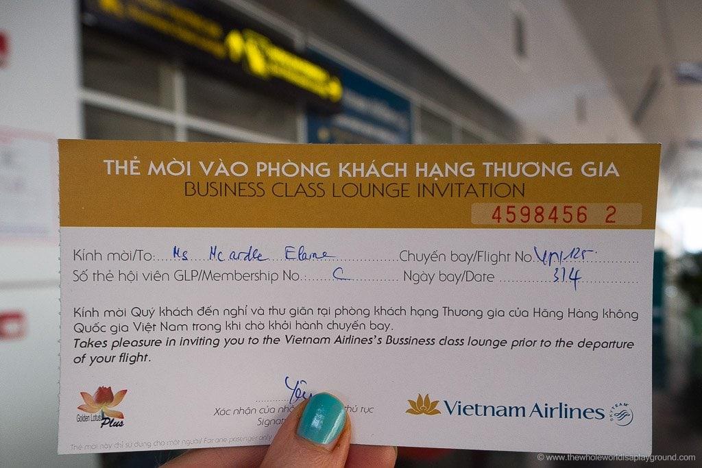 Vietnam Airlines Da Nang Lounge-2