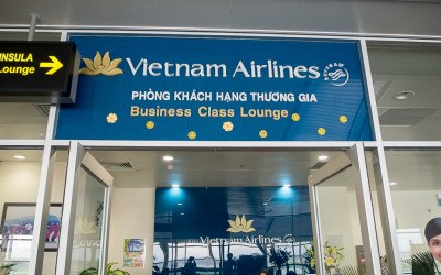 Vietnam Airlines Business Class Lounge: Da Nang Airport