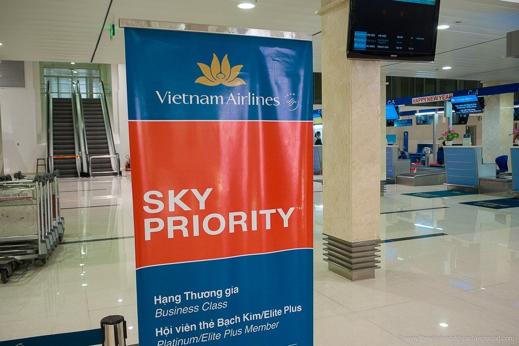 Vietnam Airlines Ho Chi Minh Lounge-1