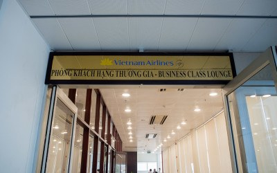 Vietnam Airlines Domestic Business Class Lounge: Ho Chi Minh Airport