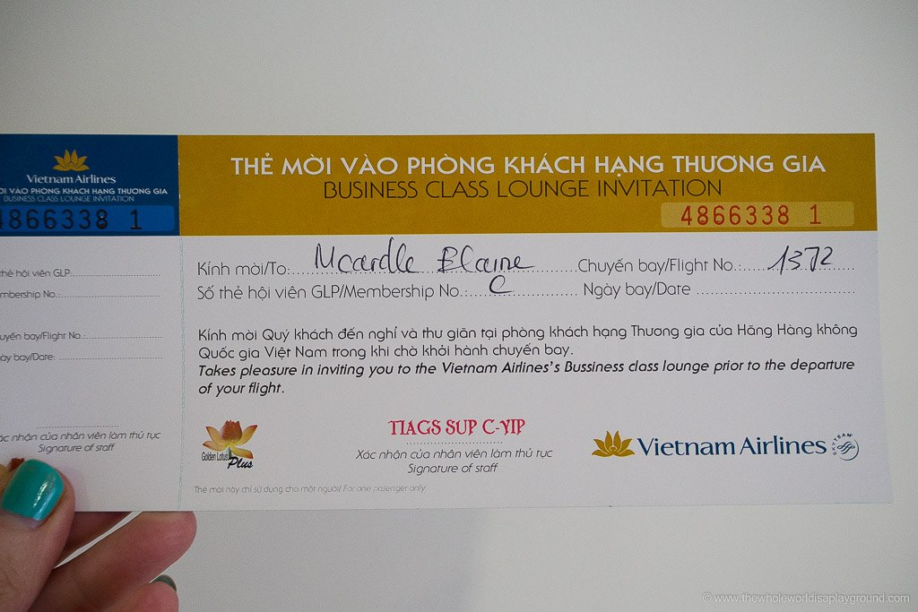 Vietnam Airlines Ho Chi Minh Lounge-2