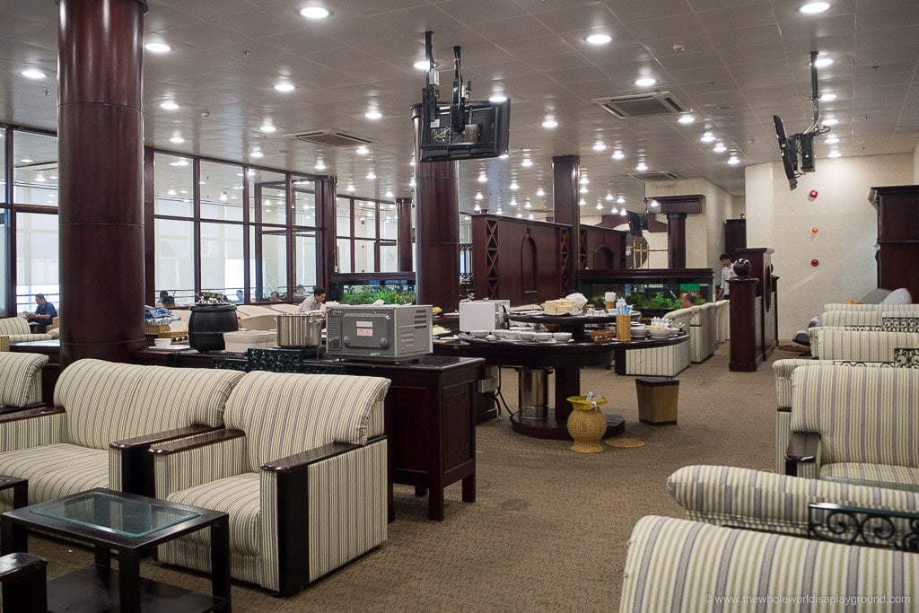 Vietnam Airlines Ho Chi Minh Lounge-4