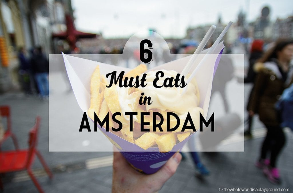 Amsterdam Must Eats: our 6 favourite food spots on the sightseeing trail!