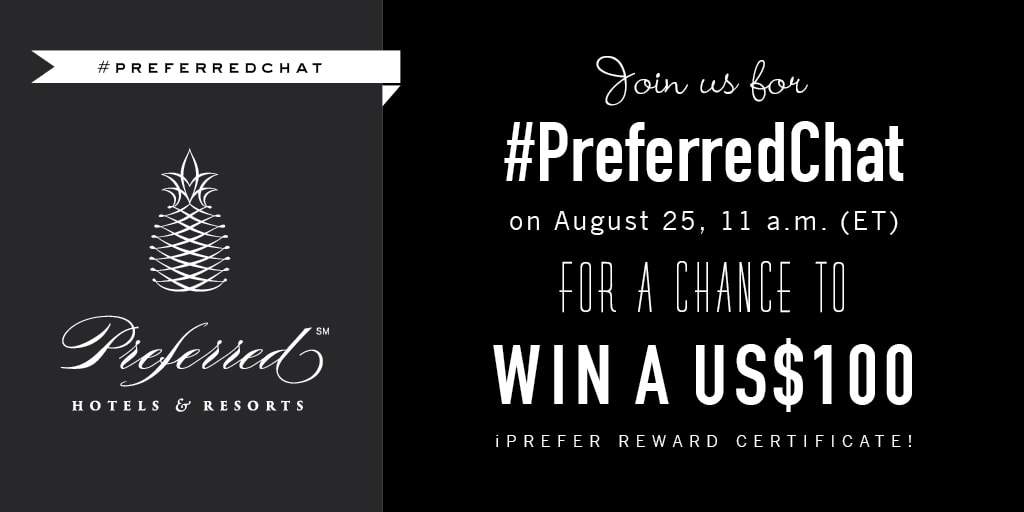 #Preferred Chat August prize promo