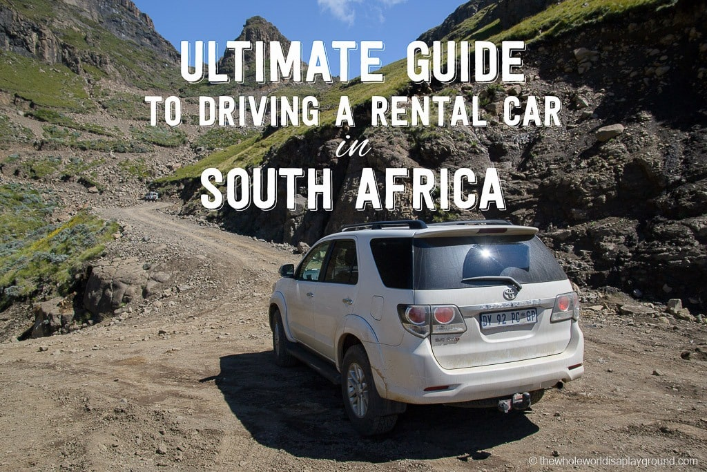 South Africa Car Rental Road Trip Tips