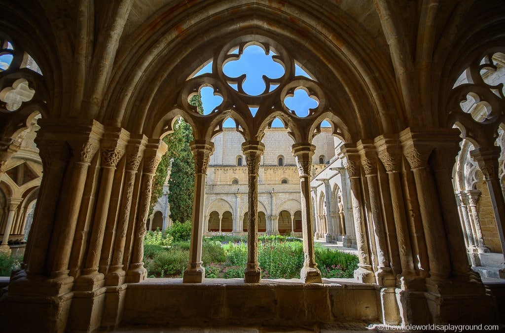 Visting Poblet Monastery: a day trip from Barcelona, Spain