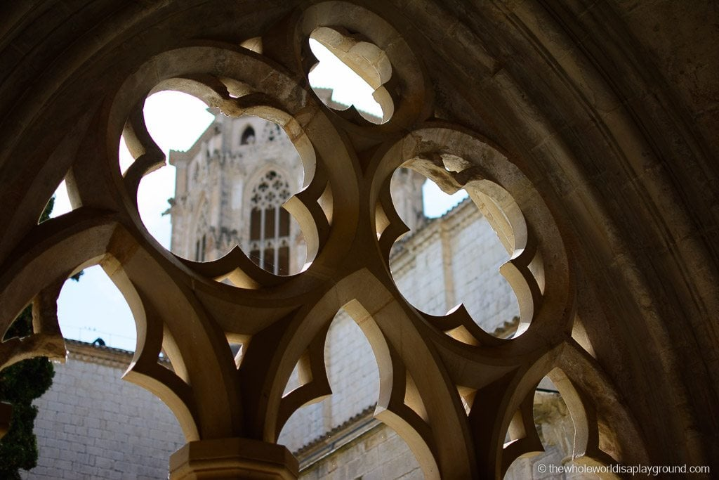 Barcelona Poblet Monastery Santa Maria de Poblet UNESCO-2