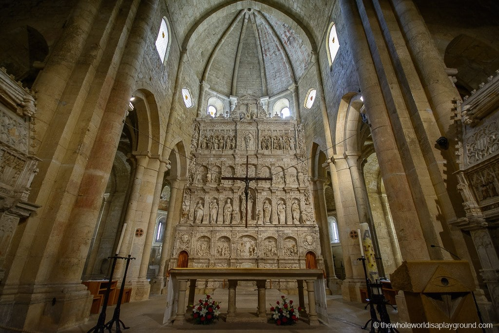 Barcelona Poblet Monastery Santa Maria de Poblet UNESCO-21