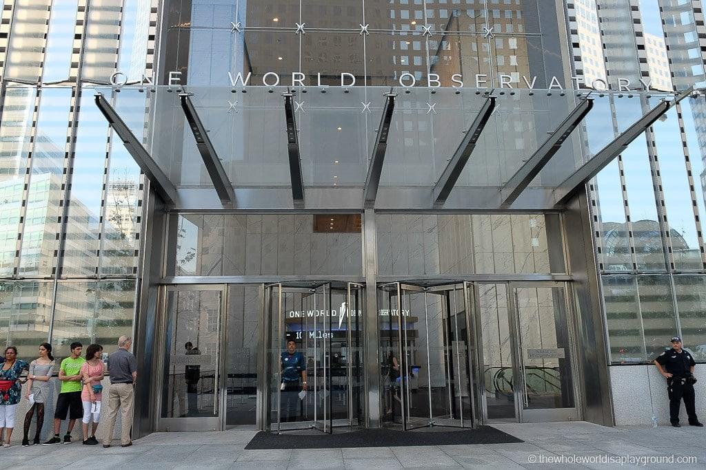 New York City Visit One World Trade Observatory-4