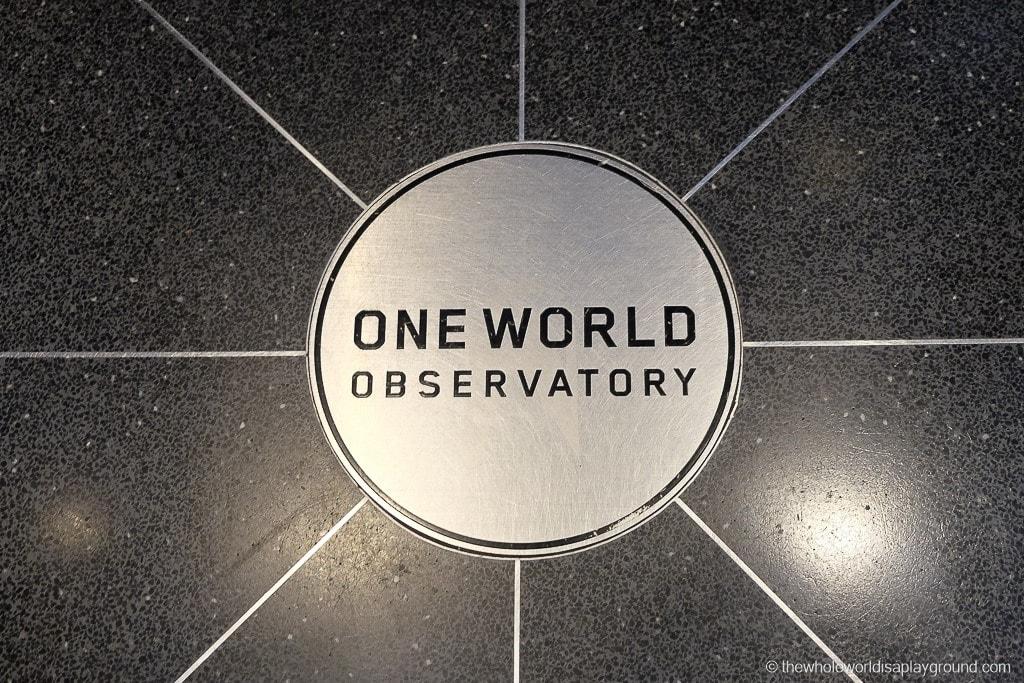 New York City Visit One World Trade Observatory-5