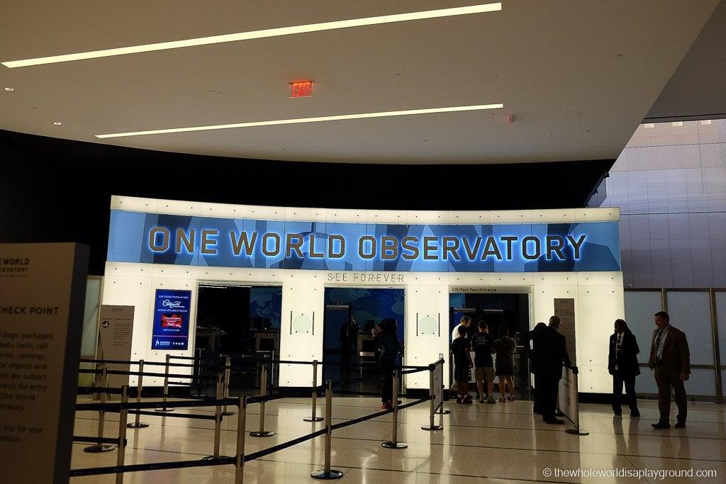 New York City Visit One World Trade Observatory-7