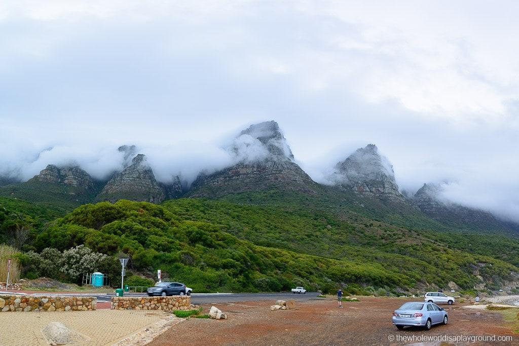 Peeking through the clouds: the Twelve Apostles
