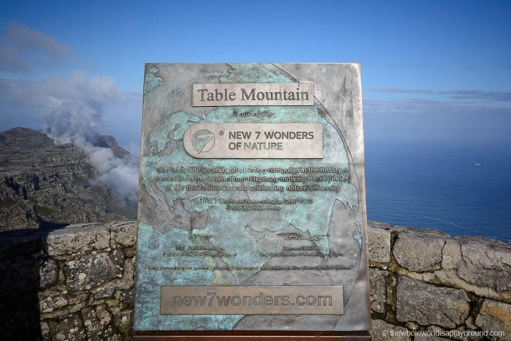Hanging out at Table Mountain!