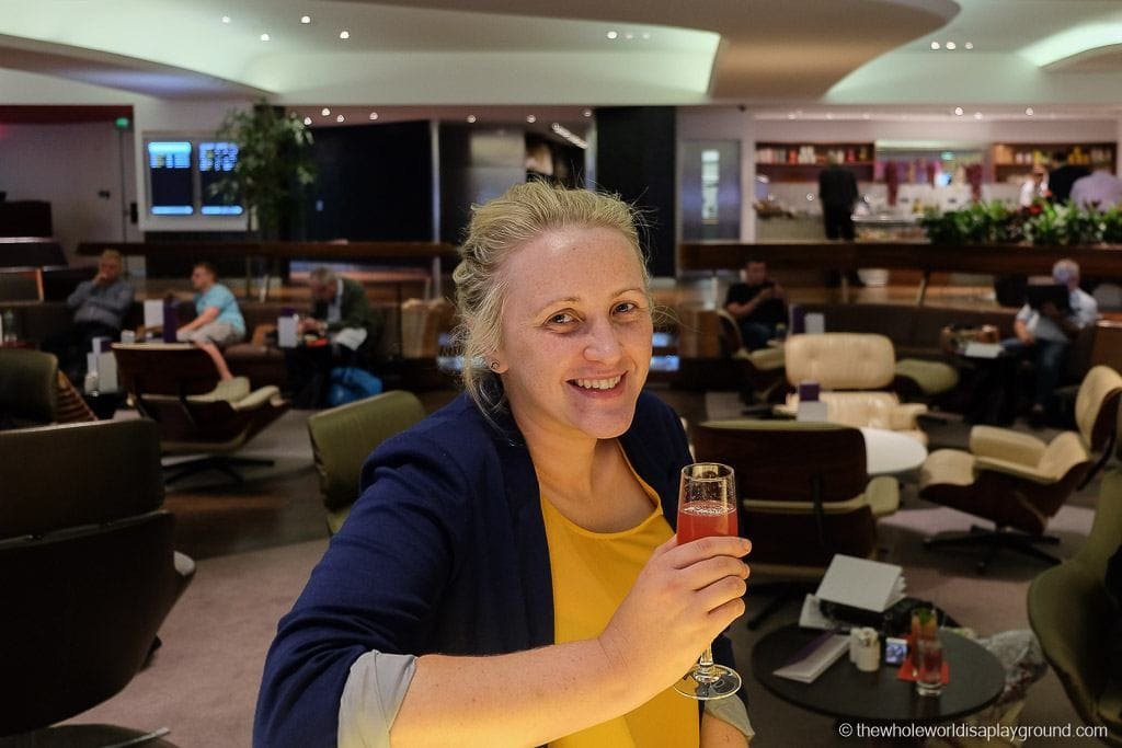 Virgin Clubhouse Business Class Lounge London Heathrow-23