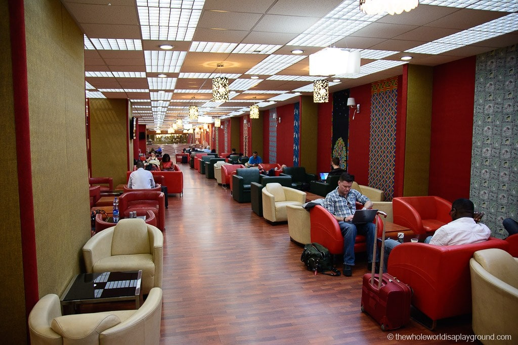 Ethiopian Airlines Lounge Addis Ababa-14