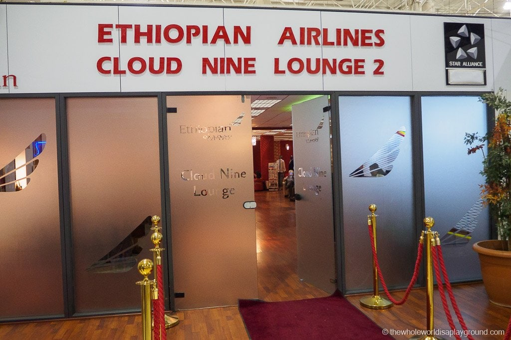 Ethiopian Airlines Lounge Addis Ababa-3