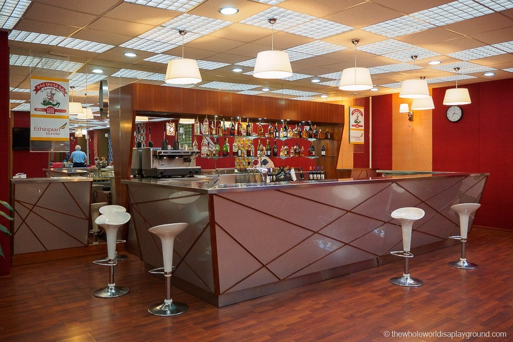 Ethiopian Airlines Lounge Addis Ababa-7