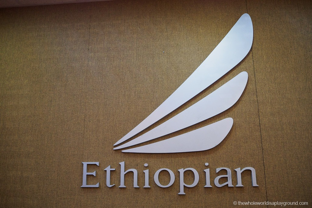 Ethiopian Airlines Lounge Addis Ababa