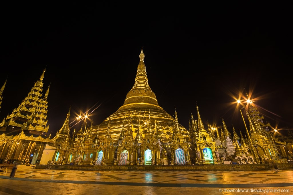 Myanmar Yangon Must See Sights