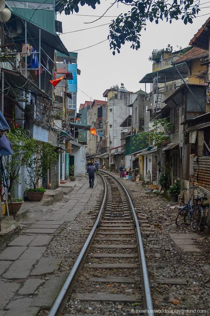 The maze of Hanoi streets