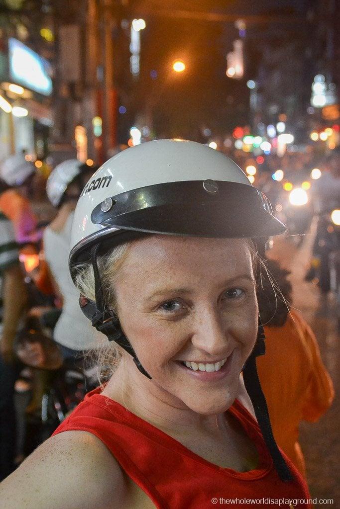 Cruising through Hoi Chi Minh!