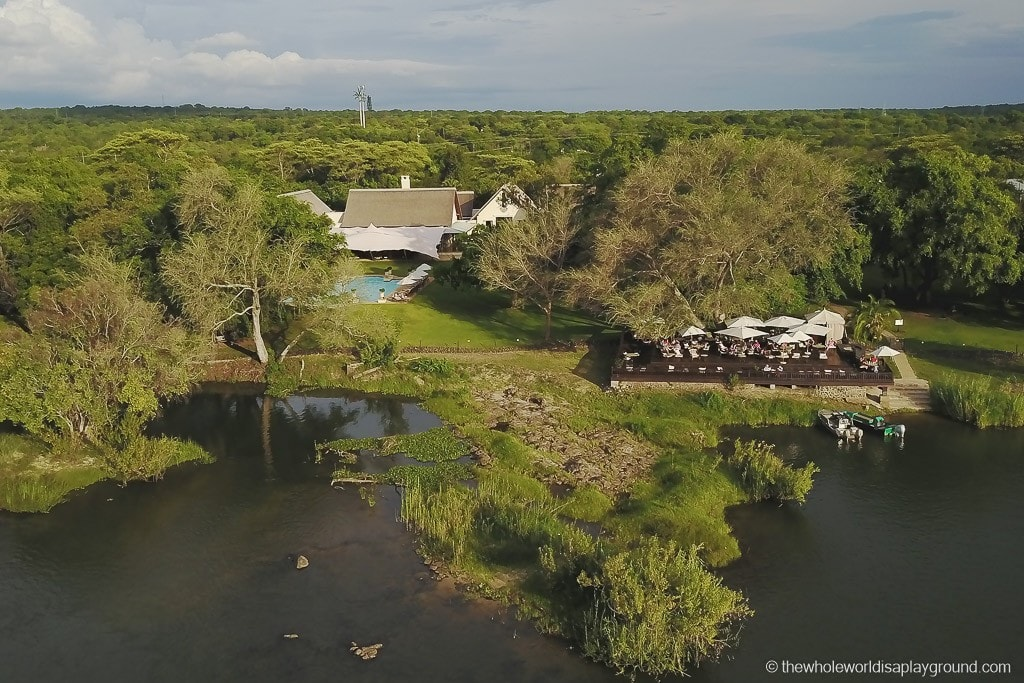 On the banks of the Zambezi: The Royal LIvingstone