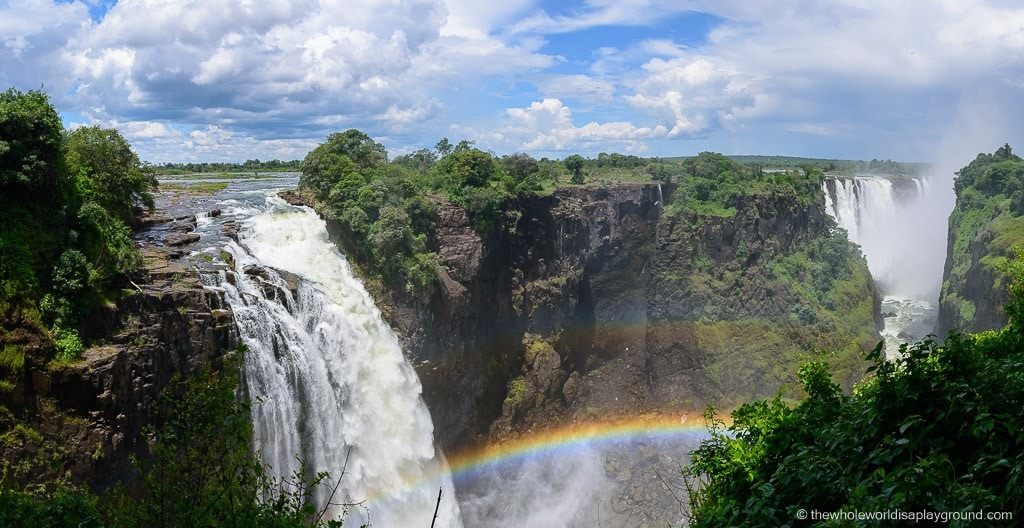 View of the Falls from the Zimbabwe side