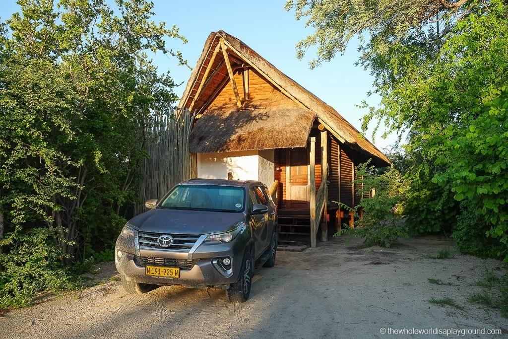 Our lodge at Nata Lodge