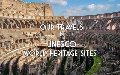 Our travels in UNESCO World Heritage Sites: UNESCO Sites 101 to 150!