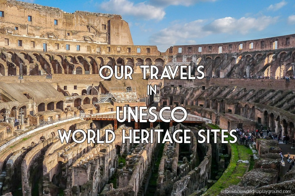 UNESCO Sights Visited 100-150-55