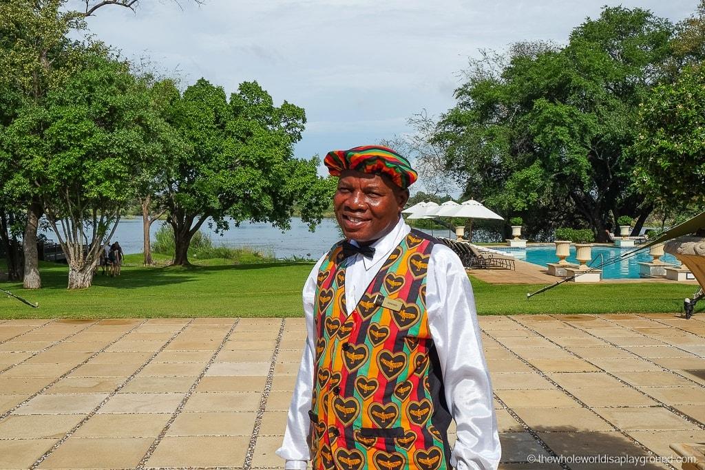 Zambia Victoria Falls Royal Livingston Hotel Review-58