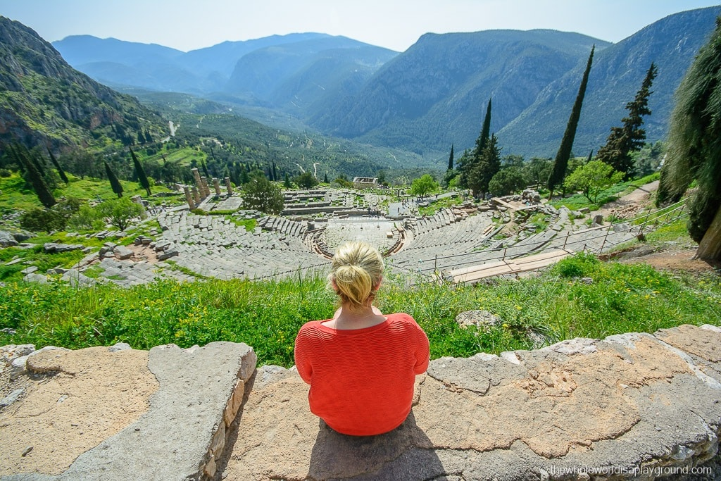 Greece Peloponnese Road Trip Itinerary