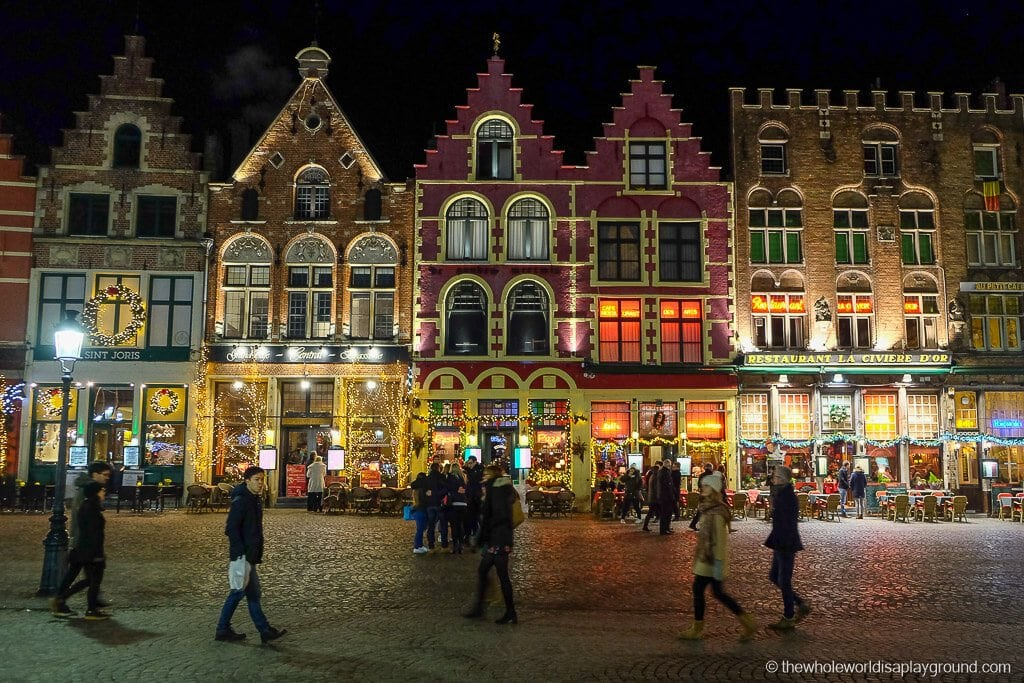 Bruges Christmas.Bruges The Best Christmas Market In Europe The Whole