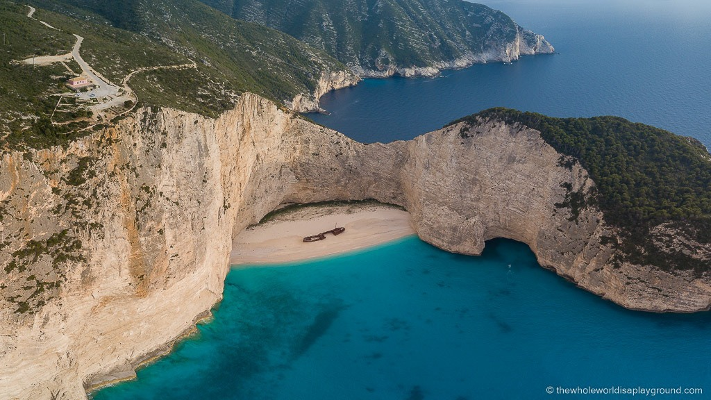 How to get to Shipwreck Beach: Navagio Beach, Greece