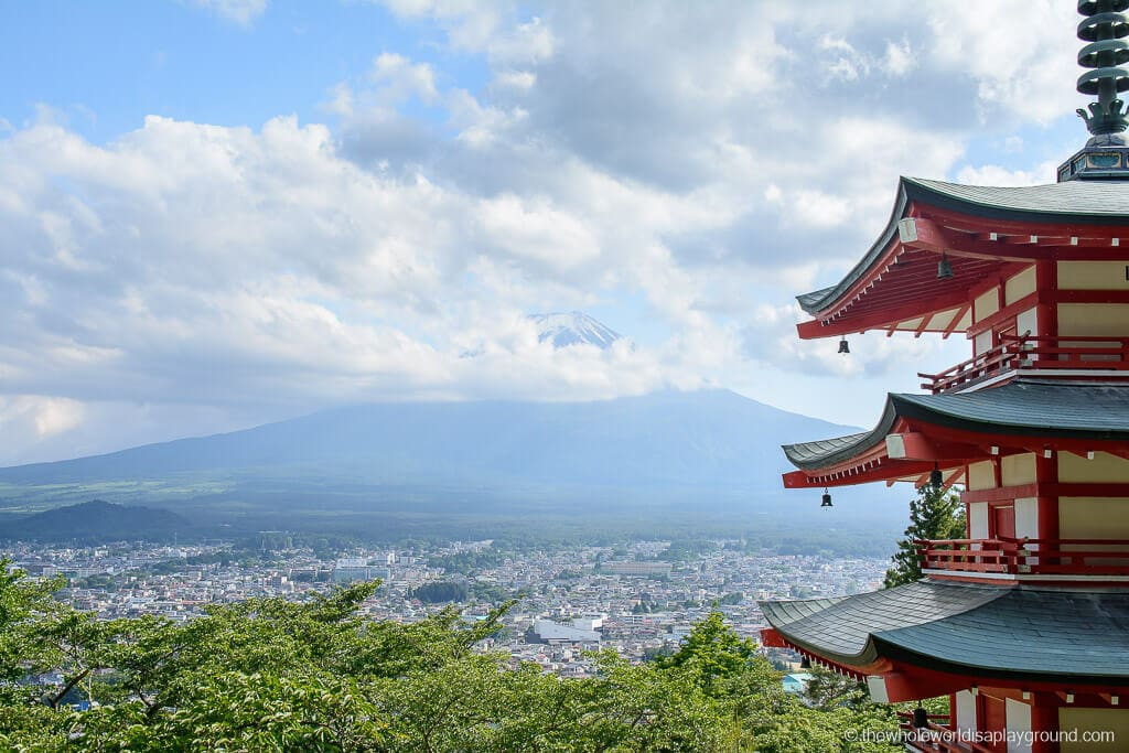 Visiting The Chureito Pagoda Best View Of Mount Fuji Japan The Whole World Is A Playground