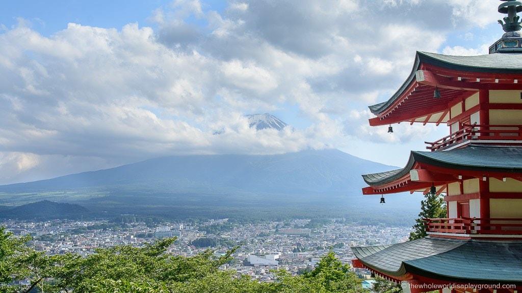 Visiting the Chureito Pagoda! Best view of Mount Fuji, Japan
