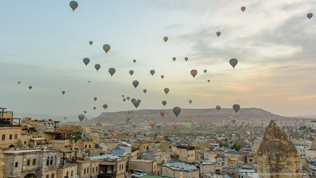 Cappadocia Hotels with best view of the balloons