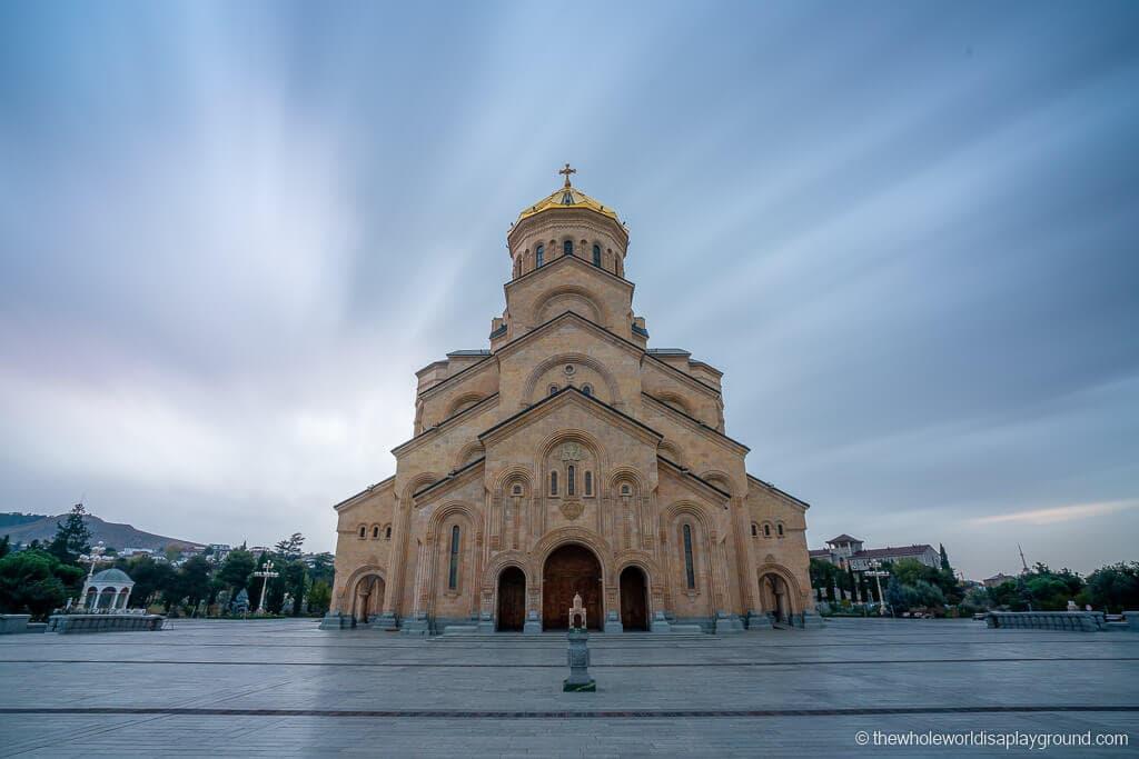 Things to do in Tbilisi Sameba Church